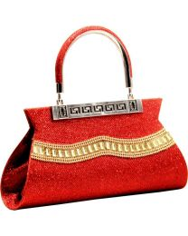 Classic Fashions  Party, Formal, Casual, Sports Red Clutch