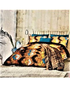 City Printed Cotton Double Bed sheet