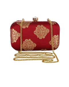 Evening Bag for Women, Floral Wedding Evening Hand carry Purse Bride Party Clutch Bag-OLD-11