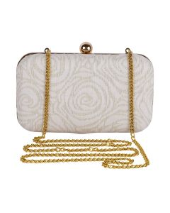 Evening Bag for Women, Floral Wedding Evening Hand carry Purse Bride Party Clutch Bag-OLD-4