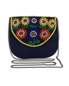 Evening Bag for Women, Floral Wedding Evening Hand carry Purse Bride Party Clutch Bag-OLD-19