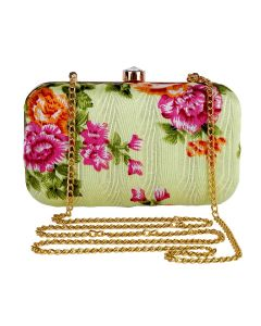 Evening Bag for Women, Floral Wedding Evening Hand carry Purse Bride Party Clutch Bag-OLD-6