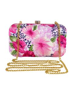 Evening Bag for Women, Floral Wedding Evening Hand carry Purse Bride Party Clutch Bag-OLD-7