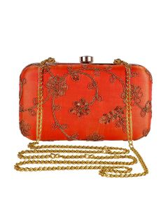 Evening Bag for Women, Floral Wedding Evening Hand carry Purse Bride Party Clutch Bag-OLD-8