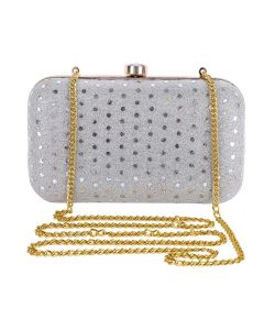 Evening Bag for Women, Floral Wedding Evening Hand carry Purse Bride Party Clutch Bag-OLD-9