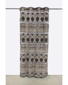City Printed Long Curtains (7ft) Pack of 2