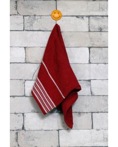 City Small Hand Towel Red